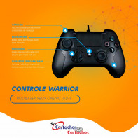 Controle Warrior Multilaser Xbox One/PC - JS078